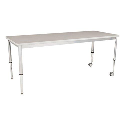 LNT-INM3072GS-SO Tavolo di pianificazione rettangolo regolabile in altezza, 72