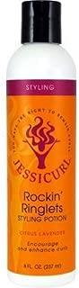 Jessicurl Rockin' Ringlets Styling Potion, Citrus Lavender, 8 Fluid Ounce