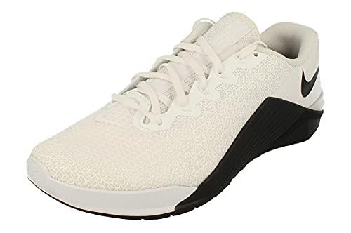 Nike Metcon 5, Chaussure de Piste d'athlétisme Mixte, White/Black/Black, 45 EU