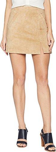 Blank NYC Suede Mini Skirt with Side Slit in Venice Beach Venice Beach 30