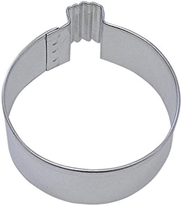 R M Ornament Round 3 Cookie Cutter In Durable Economical Tinplated Steel