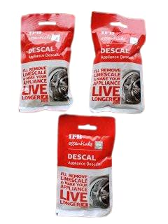 IFB Essentials Descal Powder for IFB Washing Machines to Clean the Scal from Drum 100gm each Pack of 3