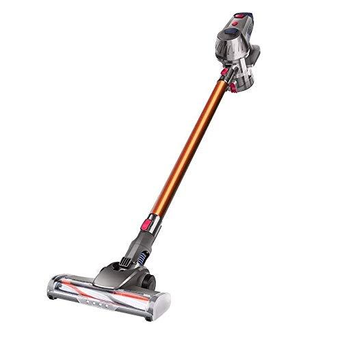 Hammer Aspiradora sin cables, portátil aspiradora inalámbrica, 10 kPa Potente succión del vacío de 150W sin escobillas del motor del palillo for el hogar for pisos duros de alfombras de coches for mas
