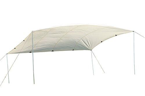 MONTIS Lake Sonnensegel, Sonnenschutz & Windschutz mit wasserdichtem Material als Wetterschutz-Segel, atmungsatives Material mit UV Schutz als Schattenspender & Schattensegel für Outdoor & Camping