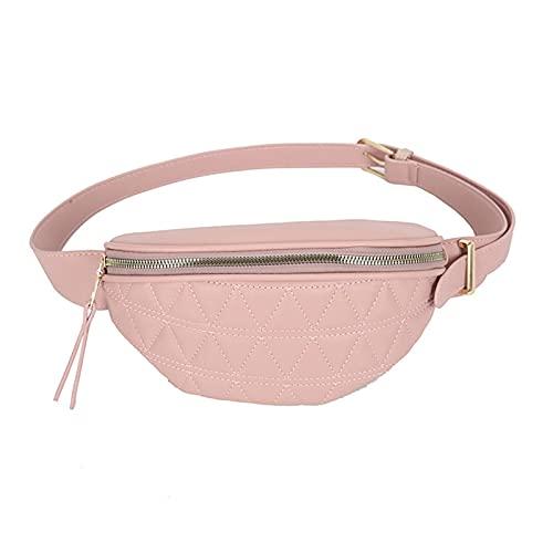 SDLAJOLLA Pochetes de cintura modernas, bolsa de cinto oval feminina, pochete feminina, bolsa de banco, bolsa de cintura transversal para mulheres esportes treino