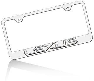 au lf Lexus Chrome License Plate Frame