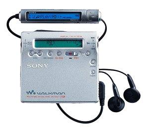 Sony MZ-R900S - Reproductor MiniDisc con función de grabaci
