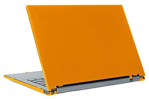 """mCover - Custodia Rigida per Notebook Lenovo Yoga Serie C940 da 14"""" (Non Adatta per Anziani Yoga 900/910 / 920 / C930) multimodale (14 Pollici Yoga C940, Arancione)"""