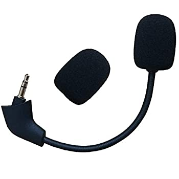 Replacement 3.5mm Microphone Boom for Kingston HyperX Cloud 2 II HyperX Silver