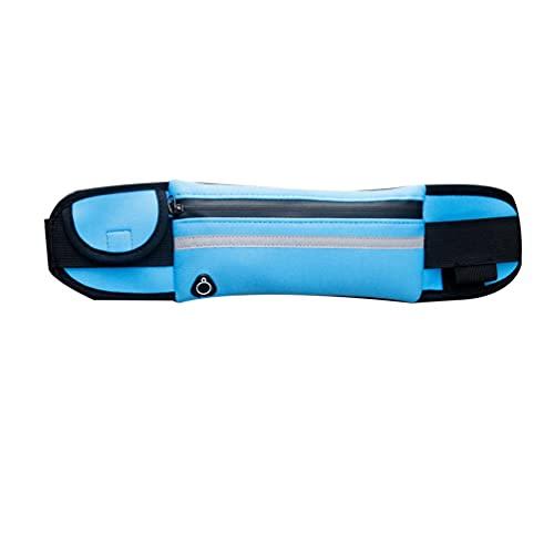 Libarty Bolsa de Cintura Deportiva multifunción, Cartera, Bolsa para Botella de Agua, Bolsa Impermeable para teléfono móvil, para Correr al Aire Libre, Ciclismo