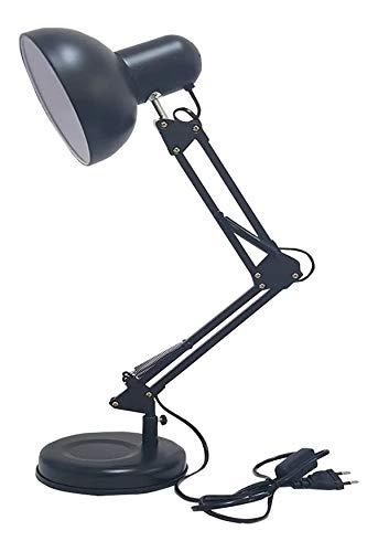 Luminária Mesa E Bancada Articulável 65 Cm Altura