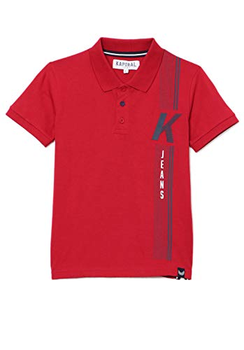 Kaporal Jungen OBBAR Polo-Pullover, Red, 8 Jahre