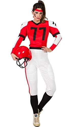 Disfraz Jugadora Rugby M-L