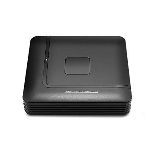 4 Canales, 8 Canales AHD DVR Vigilancia CCTV grabadora de Seguridad DVR 4CH 720P 8CH 1080N Mini DVR híbrido para AHD analógico,USPlug
