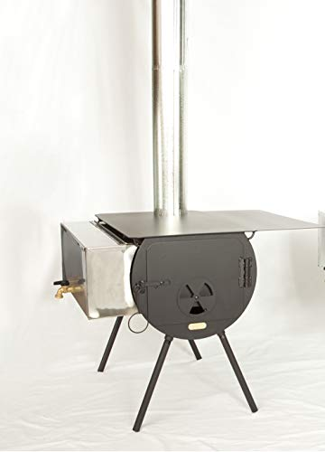 Cylinder Stoves Outfitter Wood Stove Package.