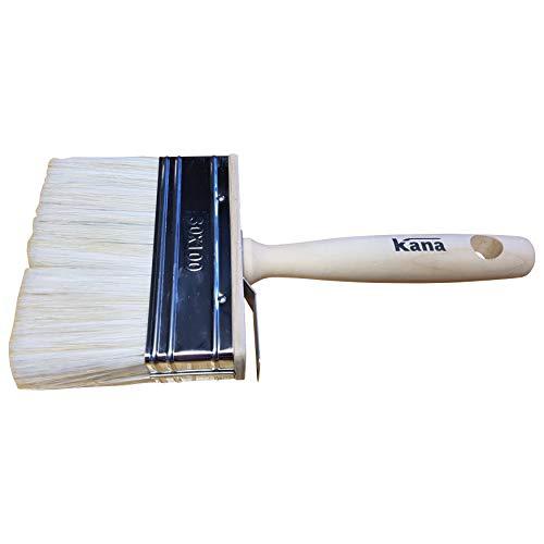 PROFI Flächenstreicher 10cm Flachpinsel Lasur Pinsel Streicher Lasurpinsel Latex Dispersionsfarbe Wandfarbe Deckenfarbe