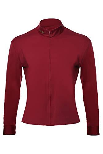 Bilicos Trek Jean-Luc Shirt Camisa Traje Cosplay Disfraz Hombres L