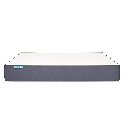 The simba Hybrid Mattress: Pocket Spring Memory Foam, Latex, and 2500Tapered, 105 x 200 cm