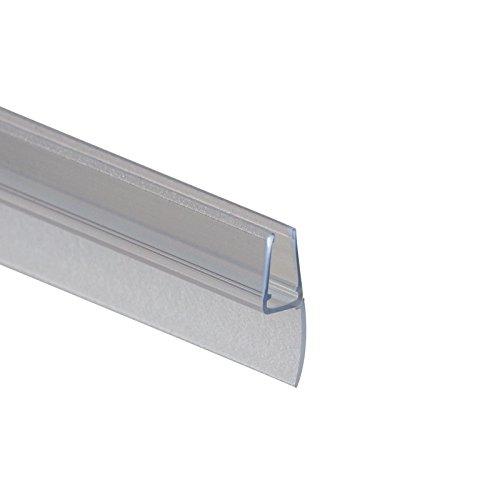 Schulte D2974 Premium Dichtung Universaldichtung vertikal/senkrecht für Duschkabine, Transparent