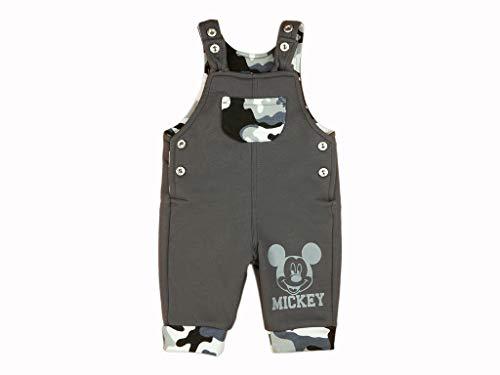 Bequeme Jungen Baby Latzhose Freizeithose Cord-Hose Spielhose Baumwolle in Grösse 68 74 80 86 92 98 104 mit Mickey Mouse Motiv von Disney Baby Farbe Modell 10, Größe 74