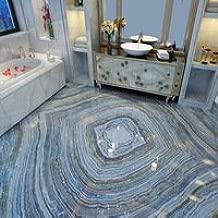 Floor Wallpaper Wall Covering 3d Parquet Pattern 3d Floor Bathroom
