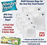 Always Fresh Vacuum Seal Bag Refill Pack