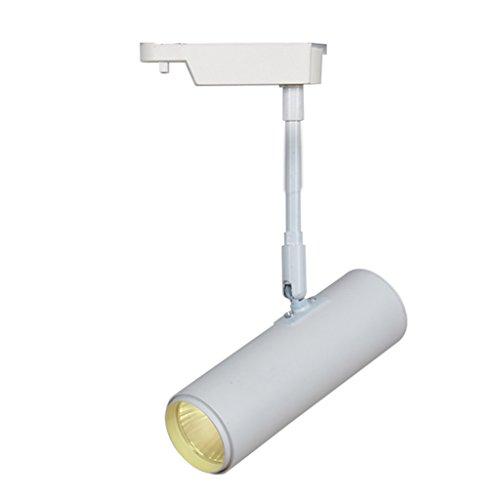 Long Rod LED Spotlights TV Backdrop Biblioteca de Tiendas de Ropa de Techo Foco Orbital Iluminación de Exterior (Color : Blanco, Size : 20 cm)