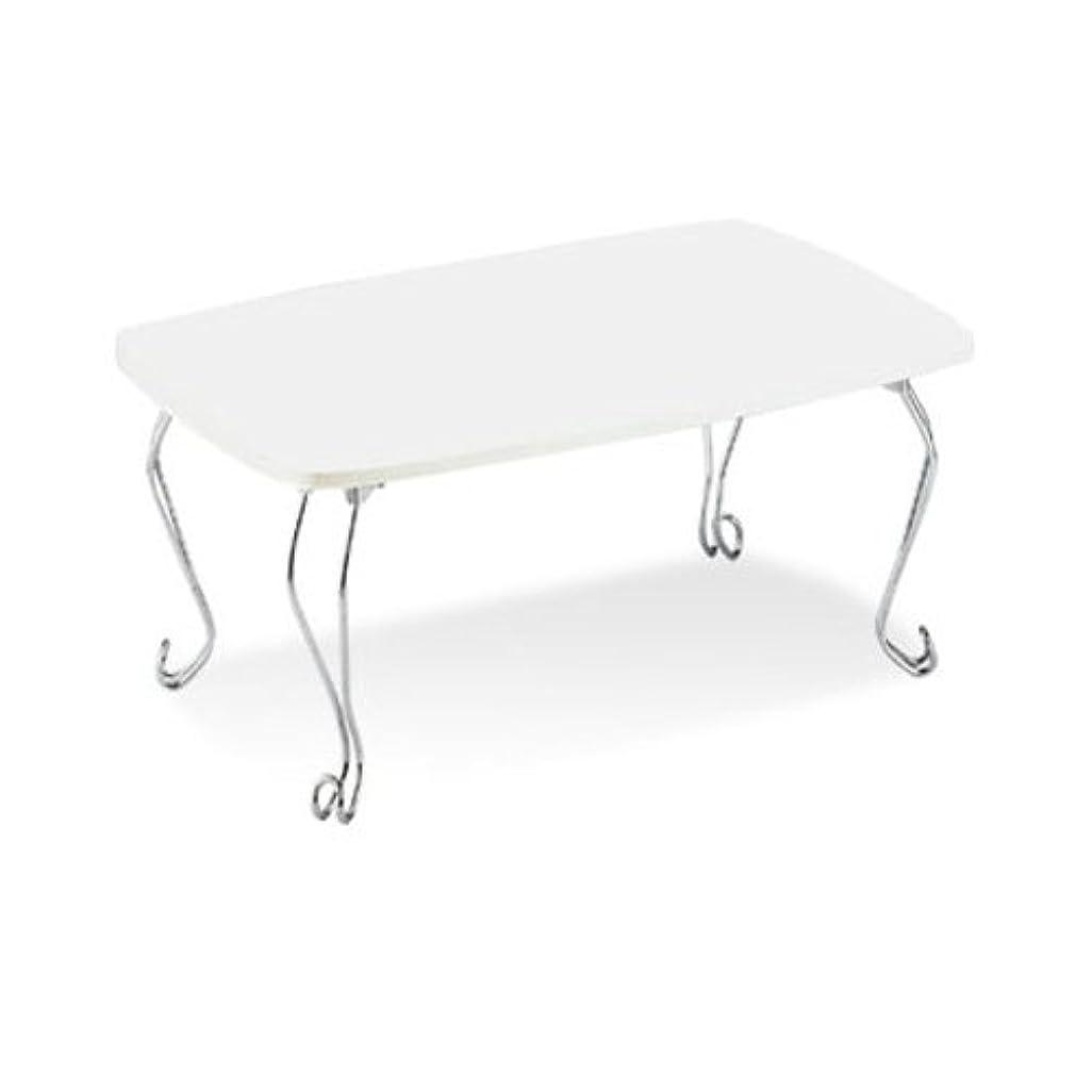 いわゆる病院散らすテーブル(猫脚テーブル) ホワイト