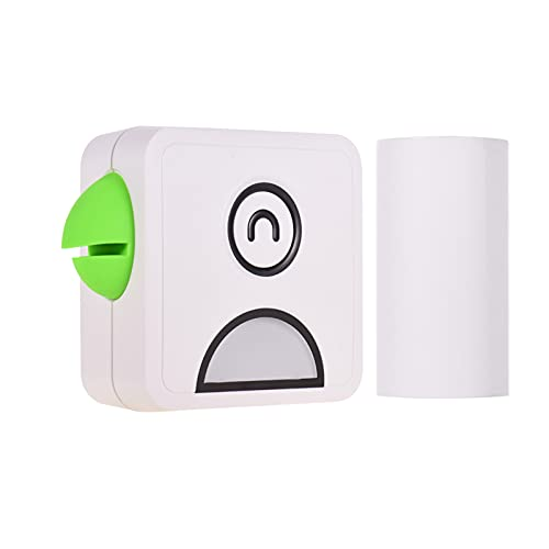 Aibecy1 Mini Stampante termica, 58 mm 300 dpi tascabile Poooli Stampante BT wireless per stampa etichette Elenchi Foto di diari...