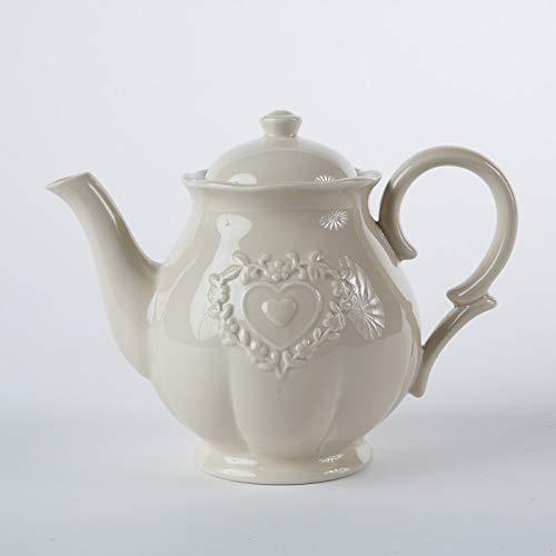 DiKasa TEIERA Ceramica Ecru' Stile Shabby CM.23X14H18