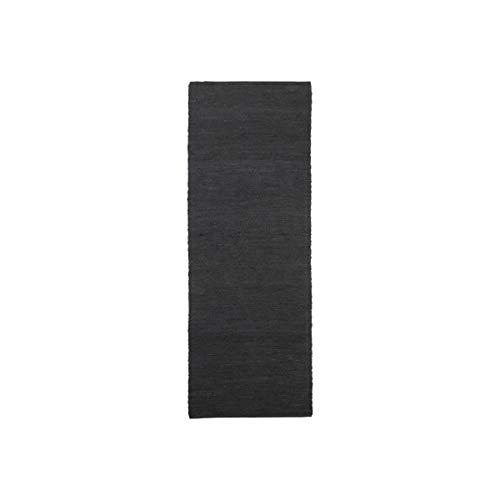 House Doctor Tapis Hempi Noir L 300 cm l 90 cm