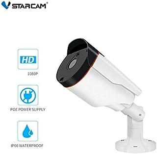 VStarcam C53S 1080P HD IP 66防水屋外ナイトビジョンモーション検出POE電源セキュリティIPカメラ