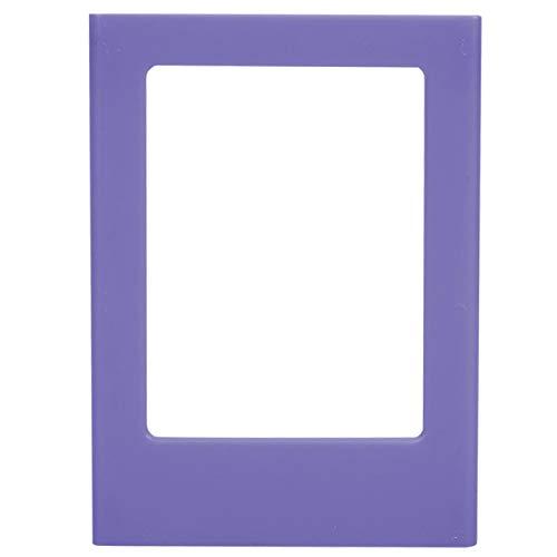Marco de fotos magnético impermeable, imanes de nevera, pegatinas de decoración para marco de fotos de decoración de(Violet)