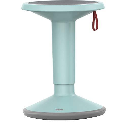 Interstuhl Hocker pastelltürkis Verstellbarer Sitz per Handschlaufe