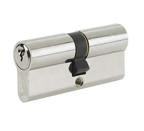 Yale B-ED4045-SNP - Euro Cylinder Lock - 40/45 (95mm) / 40:10:45 - Nickel Finish - Standard Security