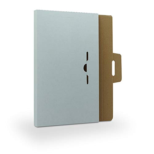 5 Stück Spezial-Versandkartons für Ihre Präsentations- und Bewerbungsmappen - stabile Versandtasche für den sicheren Versand Ihrer Bewerbung - Ideale Alternative zu B4 Umschlag mit Papprückwand