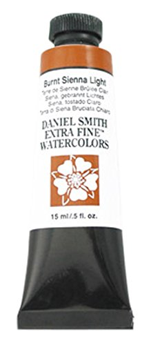 DANIEL SMITH Extra Fine Watercolor 15ml Tube, Burnt Sienna Light