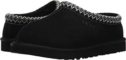 UGG Australia Men's Tasman Black Suede Slippers - 11 D(M) US
