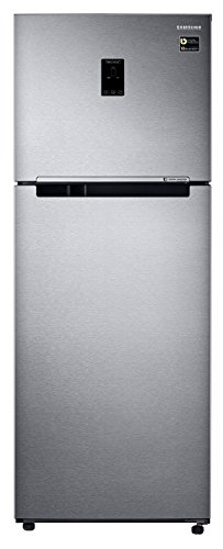 Samsung 415 L 4 Star Frost Free Double Door Refrigerator(RT42M553ESL/TL, Real Stainless, Convertible, Inverter Compressor)