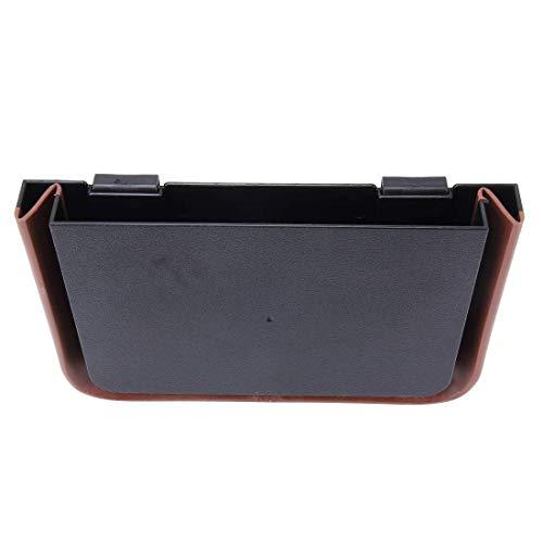 Auto opslag draagbare auto Storage Bag ABS Carrying Opslag van de Organisator Rugleuning Hanger Box Bag, geschikt for de meeste auto's Het is veiliger om de telefoon met de auto te bean