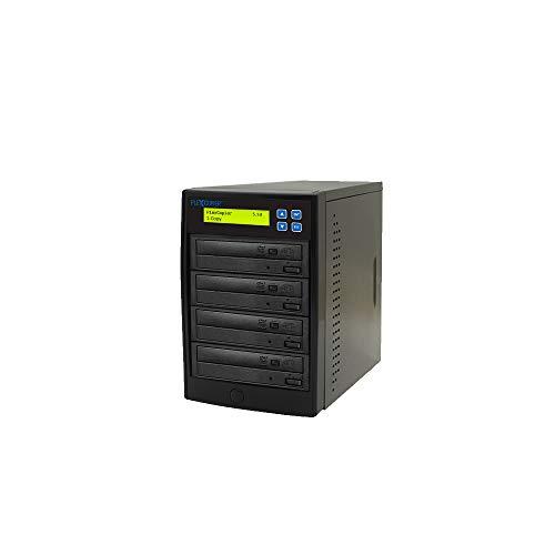PlexCopier 24X SATA 1 to 3 CD DVD duplicator Writer Copier Tower (3 Target)