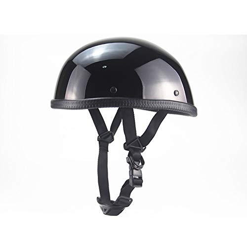 NBMN Harley Cascos Half-Helmet, Retro Casco Moto Helmet, Vintage Cascos Abiertos de...