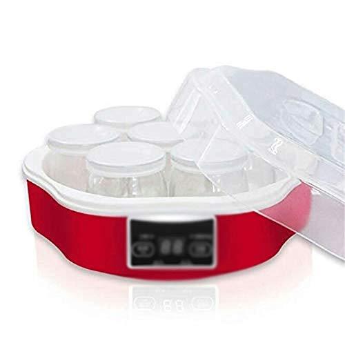 STRAW Máquina de Yogurt: máquina de Helados, Yogurt congelado automático, Sorbete y máquina de Helados, función de Temporizador de Apagado automático
