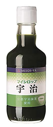 明治屋 マイシロップ 宇治 瓶 350ml