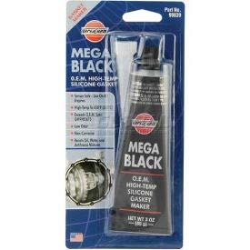 VersaChem Mega Black Silicone O.E.M, 99839, 3 Oz. Tube (Pack of 5)