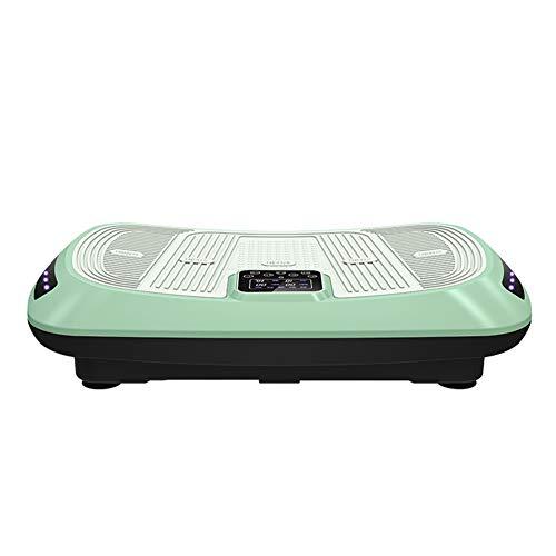 LXJ-LD 4D Vibrationsplattform Maschinen Mit Dual-Motor-Ganzkörper-Vibration Gewichtsverlust Plattform Maschine Mit Staub- Und Wasserdicht Für Heimtraining,Grün