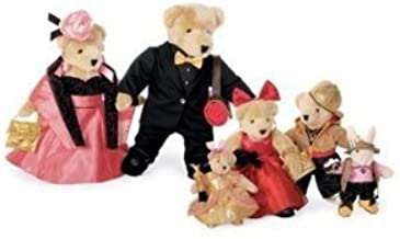 The Muffy VanderBear Family, Red Carpet Collection - Set of 6 by Muffy VanderBear