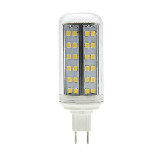 SEAMI Bombilla LED G8.5 6W 650 lúmenes, blanco cálido 3000k, ángulo de haz 360 °, lámpara halógena de repuesto LED G8.5 75W,y sin parpadeo,no regulable (1 paquete)