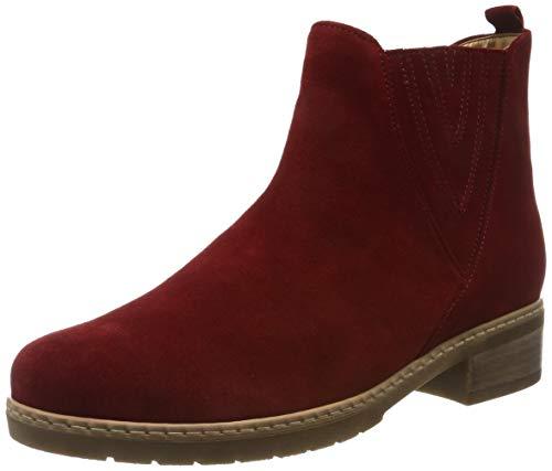 Gabor Shoes Comfort Sport, Damen Kurzschaft Stiefel, Rot (Dark-Opera (Micro) 48), 35.5 EU (3 UK)