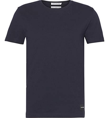 Calvin Klein Jeans Night Sky Camiseta, Azul, XS para Hombre